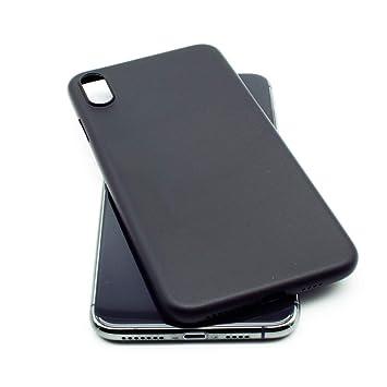 coque iphone xs max noir mat