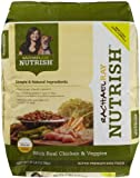 Rachael Ray Nutrish Dry Dog Food, Chicken/Vegetable Recipe, 28-Pound, My Pet Supplies