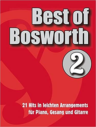 Best of Bosworth: Songbook Volume 2