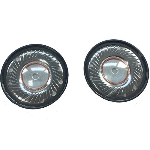1Pair 40mm Audio Replacement Headphone Speaker DIY for Dr. DRE Studio,Studio 2.0 Headphones (2 Pieces)