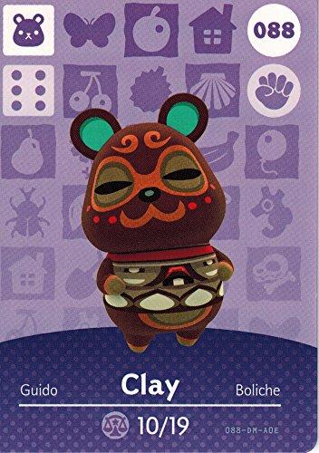 Animal Crossing Happy Home Designer Amiibo Card Clay - Designer Clay