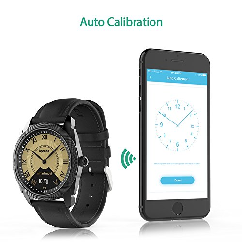 Ocamo Bluetooth 4.0 Waterproof Smart Watch Heart Rate Blood Pressure Monitor Sleep Fitness Tracker Pedometer Health Bracelet Silver by Ocamo (Image #2)