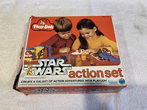 (Vintage 1977 Star Wars Play Doh Action Set)