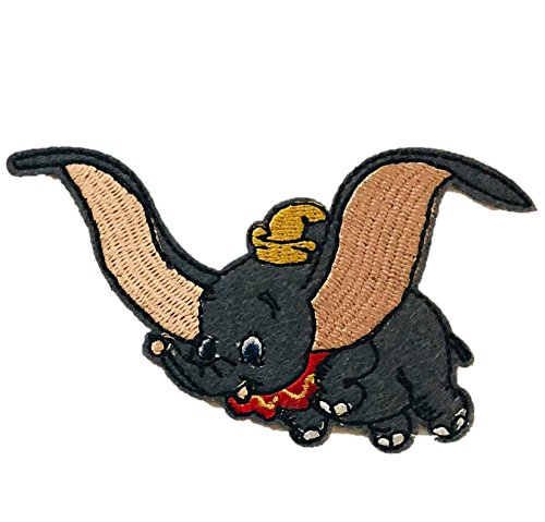Embroidered Iron/sew on Patch Cloth Applique Collectible Disney Patches (Dumbo)