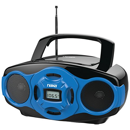 NAXA Electronics Portable MP3/CD Boombox and USB Player