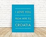 Croatia Europe Travel Art Print