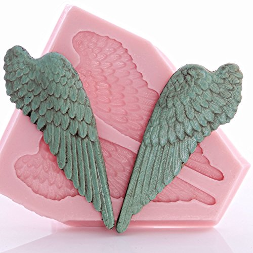 angel-wing-silicone-mold-food-safe-fondant-candy-gum-paste-craft-or-jewelry-mold-resin-clay-flexible