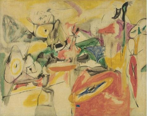 ['Arshile Gorky,Cornfield Of Health II,1944' Oil Painting, 18x23 Inch / 46x58 Cm ,printed On High Quality Polyster Canvas ,this Imitations Art DecorativeCanvas Prints Is Perfectly Suitalbe For Wall Art Artwork And Home Decor And] (Im The Pope Costume)