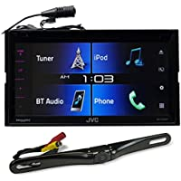 JVC KW-V330BT 6.8 Car DVD Receiver w/Bluetooth/Siri Eyes/iPhone/Android+Camera