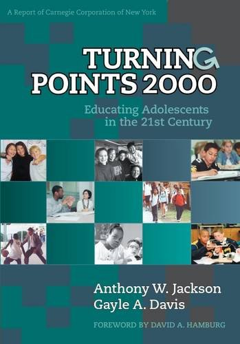 Turning Points 2000: Educating Adolescents in the 21st...
