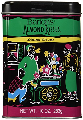 Barton's Almond Kiss Tin, Passover, 10-ounces -