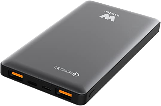 Woxter Power Bank QC 16000 Black: Amazon.es: Electrónica