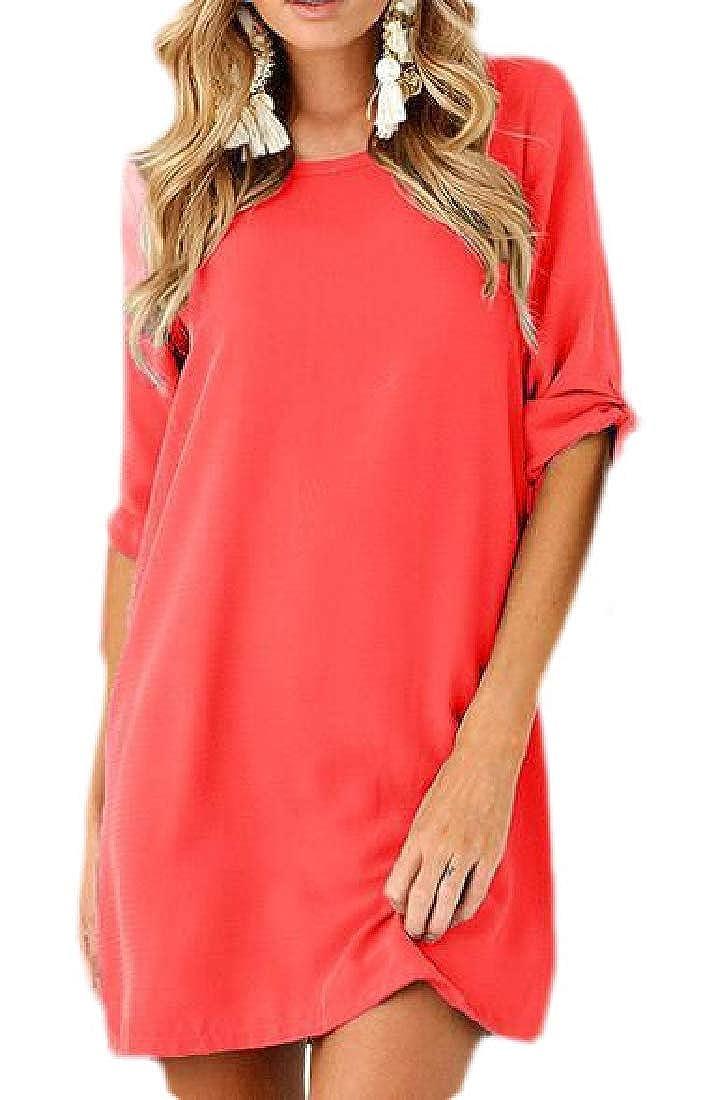 Zantt Mens Beach Shirts Button Down Short Sleeve Floral Print Dress Shirt Top