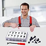 240 Pcs Push Retainer Kit and Free Fastener