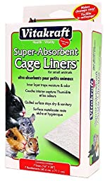 VITAKRAFT Super Absorbant Cage Liners for Small Animals by Vitakraft