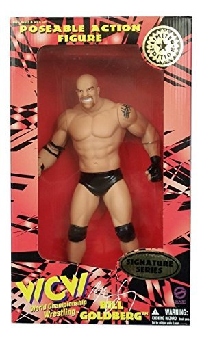WCW/NWO Goldbwrg Signature Series Limited Edition 12' Poseable Action Figure By Toymakers 1998
