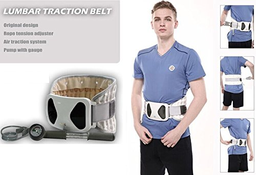 iRSE Spinal Decompression Back Belt, Lumbar support, Spinal Air Traction Physio - Waist Brace Spine Inflatable Traction for Lumbar Pain Relief (Medium) by iRSE Health (Image #3)