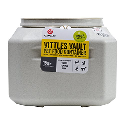 Vittles-Vault-Outback-15-lb-Airtight-Pet-Food-Storage-Container