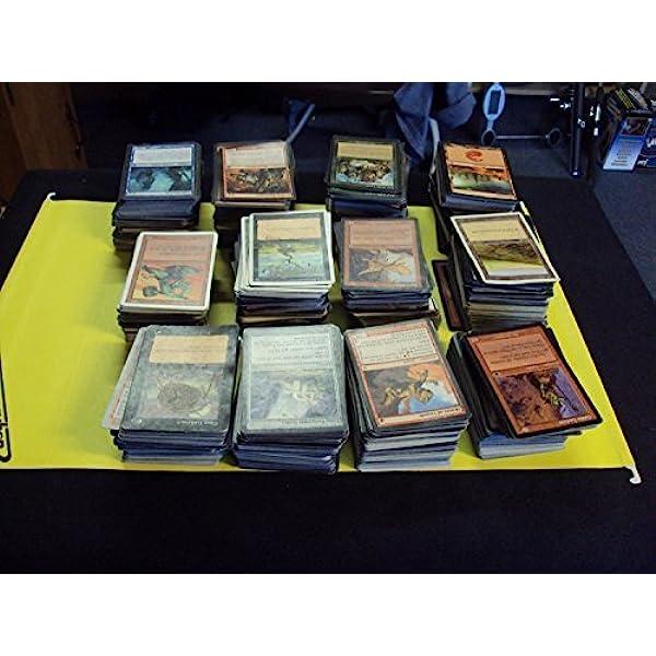 Deck Box Counters Tokens MTG MAGIC CARDS BULK LOT VINTAGE 1994-2000 Cards 110
