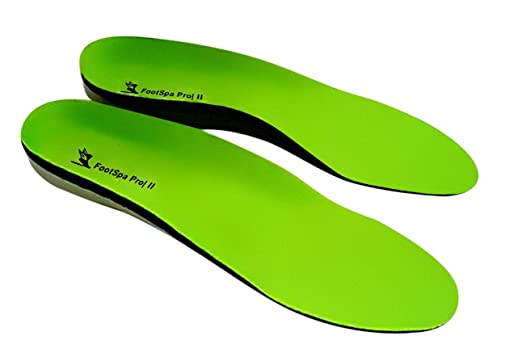 FootSpa Pro Plantar Fasciitis Insoles, Orthotic Insoles, Relief from Heel and Foot Pain, Insoles Support Arch and Heel, Provides Extreme Comfort, Suitable For Most Foot And...