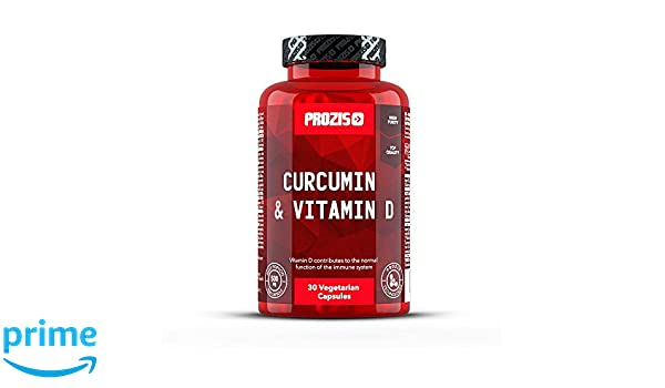 Prozis Curcumina y Vitamina D - 30 Cápsulas: Amazon.es: Salud y cuidado personal