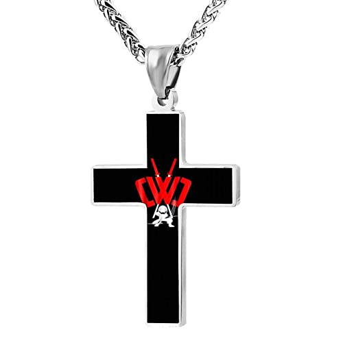 2BO1e Fashion CWC Chad-Wild-Clay Ninja Sword Designed Cross Necklace
