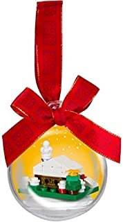 Amazoncom LEGO Friends Christmas Holiday Bauble White Bricks Set