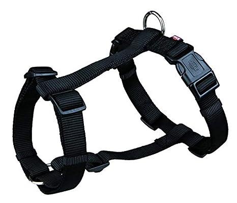 Trixie 20331 Premium H-Harness negro, S-M: 42-60 cm/15 mm: Amazon ...