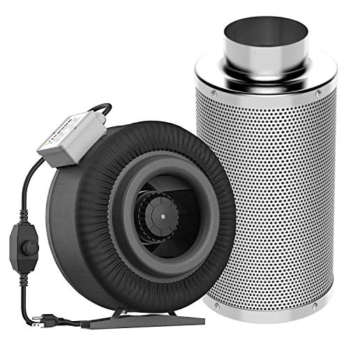 VIVOSUN 8 Inch 740 CFM Inline Duct Fan with 8