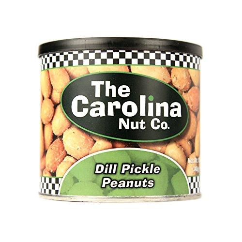 The Carolina Nut Company Peanuts, Dill Pickle Flavored, 12 - Company Nut