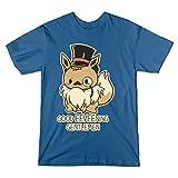 Good Eevee-Ning Gentlmen! - Teepublic Male XL T-Shirt