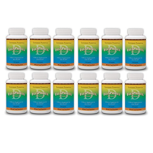 Original Flex Protex D with Vitamin D3 12 Bottles = 1 Year Supply by Flex Protex