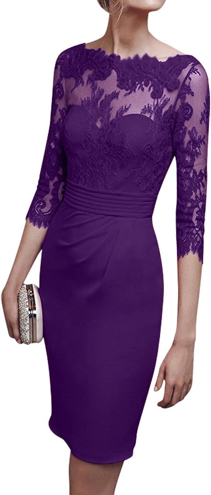 Royaldress Rot Knielang Abendkleider Partykleider