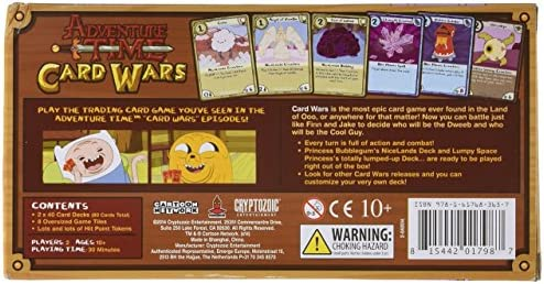 Adventure Time Card Wars Collector/'s Pack 3 Princess Bubblegum vs LSP Game