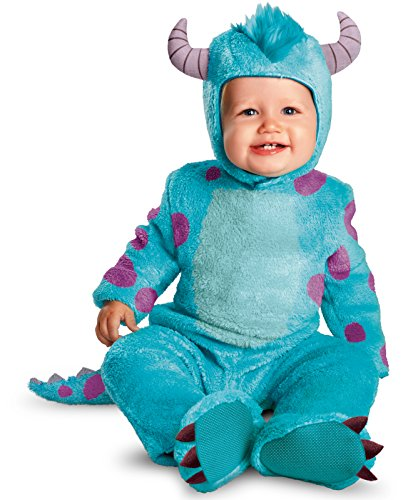 Disguise Costumes Disney Pixar Monsters University Sulley Classic Infant, Blue/Purple, 12-18 Months ()