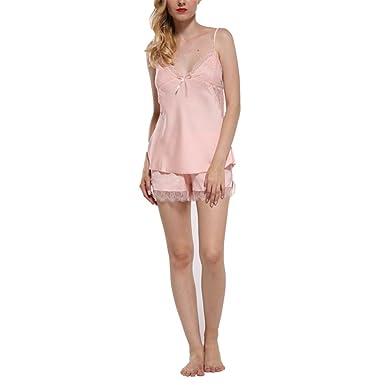 Pratnd Lace For Women Fashion Backless Straps Lingerie Sets Pijamas ... 5991243df39c6