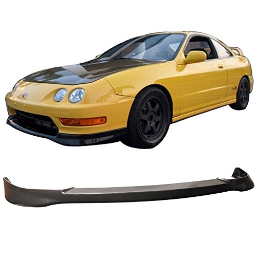 (98-01 Acura Integra DC2 3/4 Door TR Style Add-On Front Bumper Lip polyurethane)