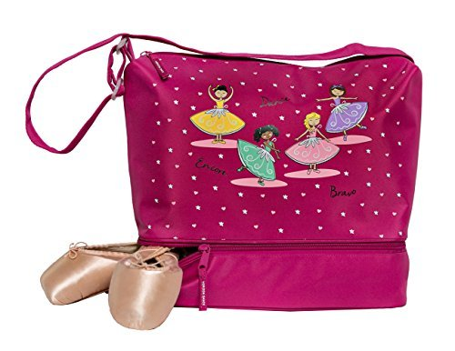 Ballet Shoe Bag - Horizon Dance 1043 Bravo Tote Bag with Shoe Compartment