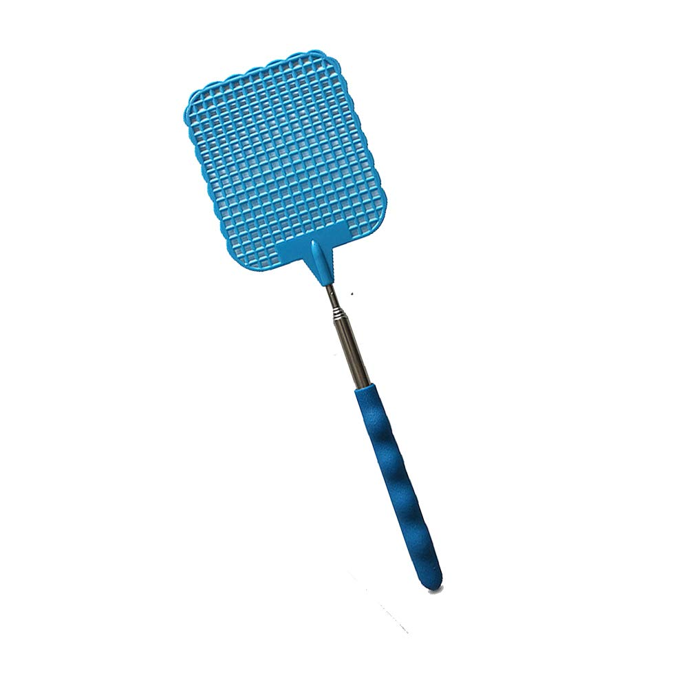 Xeminor Fly swatter Telescopic Extendable Fly Swatter Prevent Pest Mosquito Tool Plastic