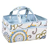 Waverly Baby by Trend Lab Diaper Caddy, Pom Pom Spa - (Original from manufacturer - Bulk Discount available)
