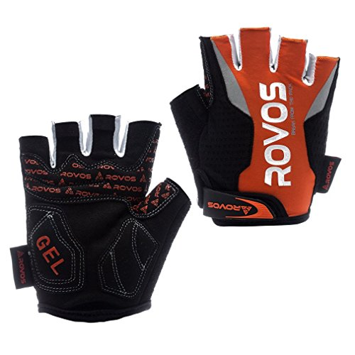 Cycling Gloves Men Half Finger 3D Gel Padding Breathable Mountain Bicycle Gloves