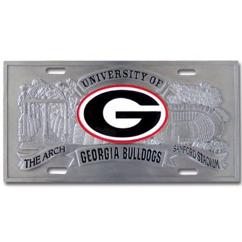Siskiyou Georgia Bulldogs College Collector's Plate