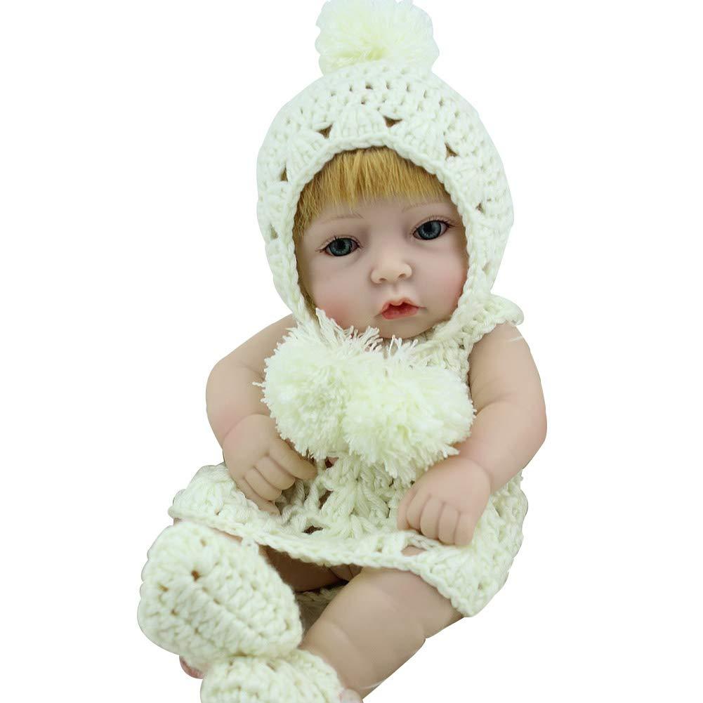 CHENG Simulation Simulation Simulation wiedergeborene Baby Realist Babies Silicone Macht niedliche Kinder Neugeborene Spielzeug fe7162