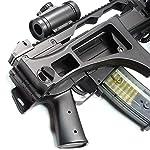 Double Eagle Airsoft-M85 Style G36c ABS/Couleur Noir/électrique (0.5 Joule)-Semi/Full Automatique-livré avec Accessoires 7