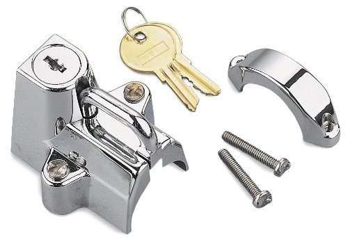 Bikers Choice Motorcycle Helmet Lock Chrome Universal