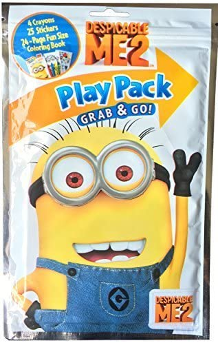 Minions Party coloring and activity play packs Set of 10 Disney Play Pack Grab /& Go Despicable Me