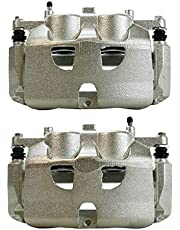 AutoShack BC3180PR Pair Set of 2 Front Driver and Passenger Side Disc Brake Caliper Assembly Replacement for 2010-2011 Ford F-150 2010-2016 Expedition 2010-2016 Lincoln Navigator 5.4L 6.2L 4WD AWD RWD