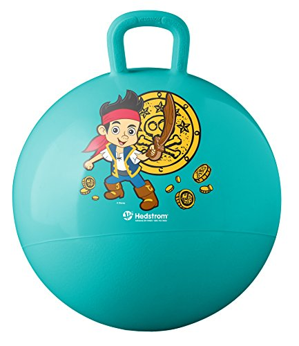 Hedstrom Jack and The Never Land Pirates Hopper Ball, Hop Ball for kids, 15 (Jake And The Neverland Pirates Ball)