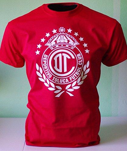 Deportivo Toluca FC Mexico Futbol Soccer T shirt Camiseta Jersey