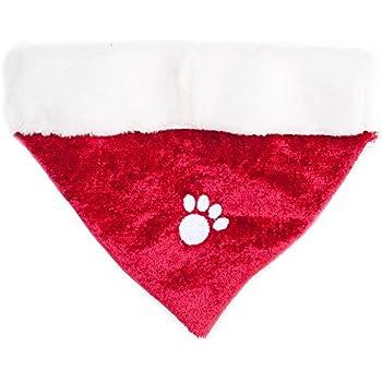 Amazon.com : Tail Trends Christmas Dog Bandanas Christmas Tree ...